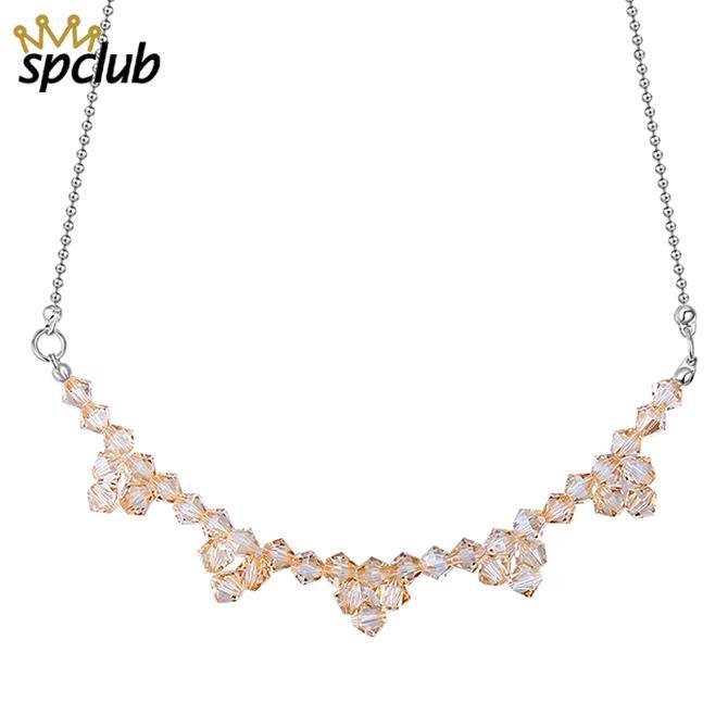 Großhandel Boho Kragen Choker Kristalle Aus Swarovski Perlen Choker  Halskette Anhänger Vintage Anweisung Perlen Bijoux Femme Maxi Schmuck Von  ... fc4b0722e0