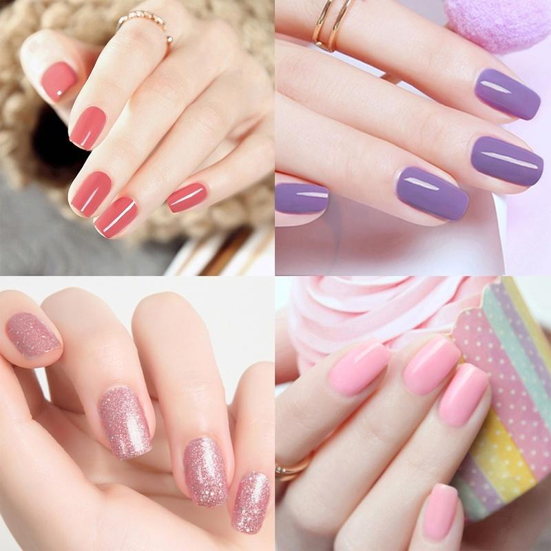 12ML UV Gel Nail Polish Candy Color Vernis Semi Permanant Gel Nail ...