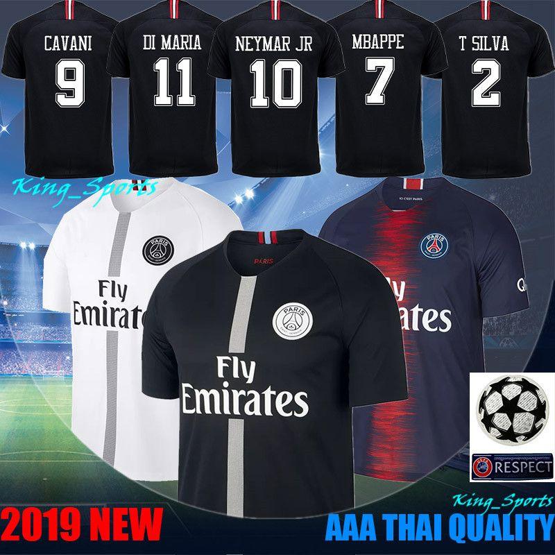 533f1b070 Paris Saint Germain Jersey PSG Jersys 7 Mbappe 10 Neymars Jerseys ...