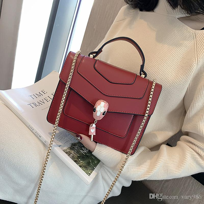 2019 New Mini Chain Bags Bolsa Femininas PU Leather Messenger ... 79b4518587