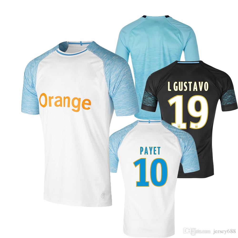 167ffcb08 2019 2018 19 High Quality Home Away And Third Soccer Jerseys PAYET CABELLA  L.GUSTAVO THAUVIN Man Football Shirts Thailand De Foot Maillot From  Jersey688