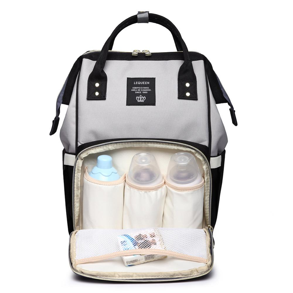 0bd2cb38a8 2019 Portable Large Capacity Nappy Backpack Bags Waterproof Travel ...