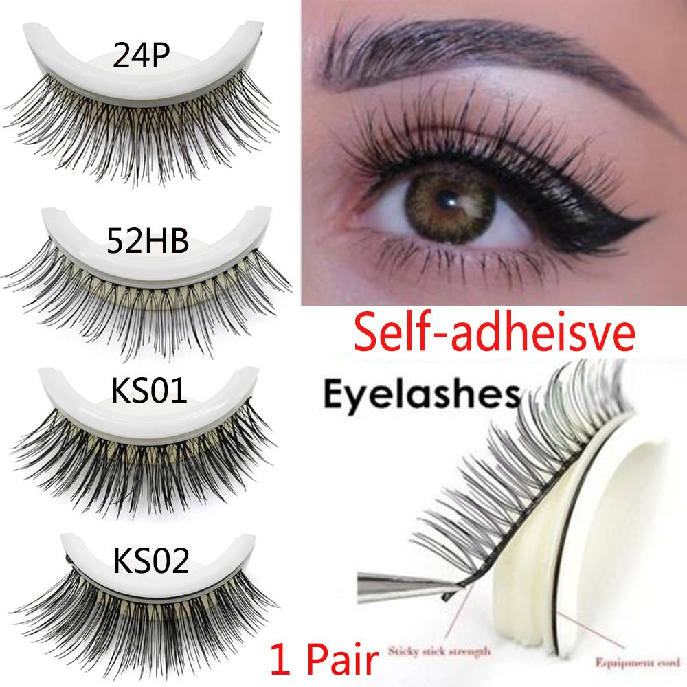 a7bccdd7f32 3D Self Adhesive False Eyelashes Extension No Glue Required Lashes Non  Irritating Anti Allergy Eye Lashes Makeup How To Apply False Lashes Longer  Eyelashes ...