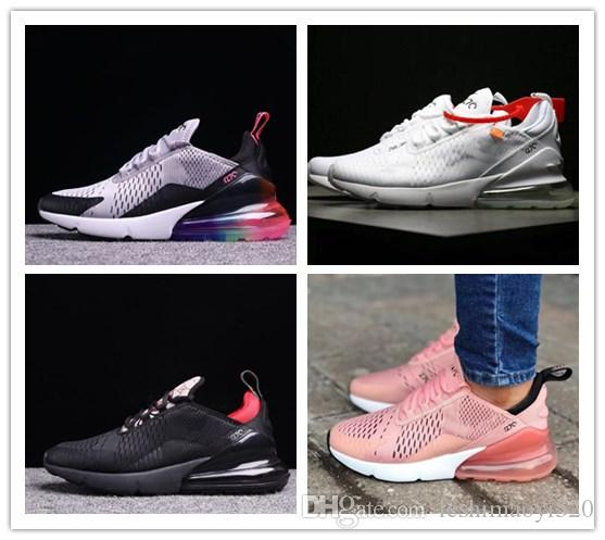 e0636d37295 2019 Men 270Running Shoes 27C For Women World Cup Champion France Trainers  Male Sports Athletic Sports Jogging Designer Shoes Sneakers SIE 36 45 From  ...