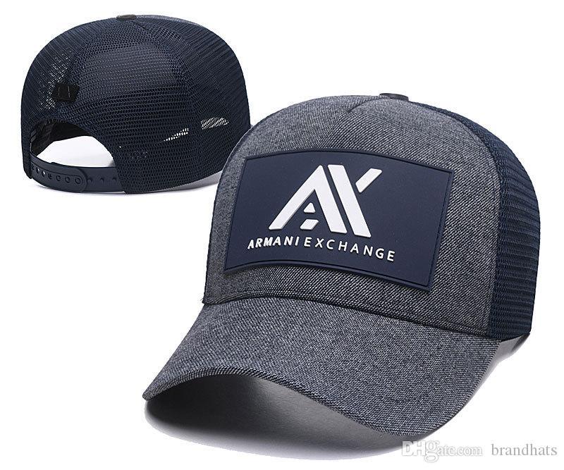 huge discount 1adc9 4f79f Le più nuove donne uomini Ea berretto da baseball ascia cotone sport  casuali all'aperto sole cappello moda lettera palla cap estate maglia  freddo d2 g ...