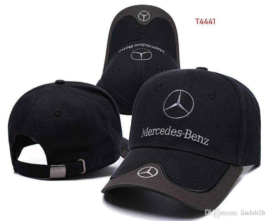 2019 2019 New Sale Mercedes Benz Bone Gorras Snapback Hat F1 Champion  Racing Sports AMG Automobile Trucker Men Hat Adjustable Golf Cap Sun Hat 09  From ... c1ac2f6f177f