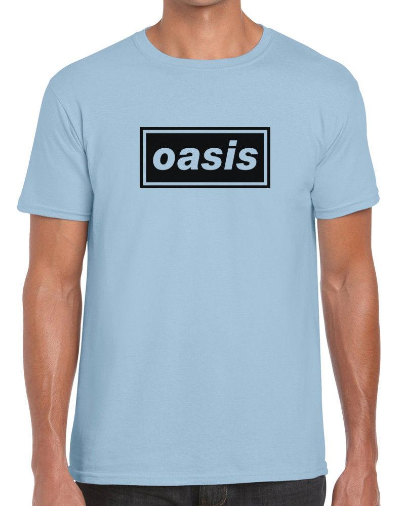 ebf6b265fa7f3 Oasis Band Logo Supersonic Gallagher Noel Liam Brit Pop Beady Eye Tee T  ShirtFunny Unisex Tee Vintage T Shirt Cute T Shirts From Topclassaa