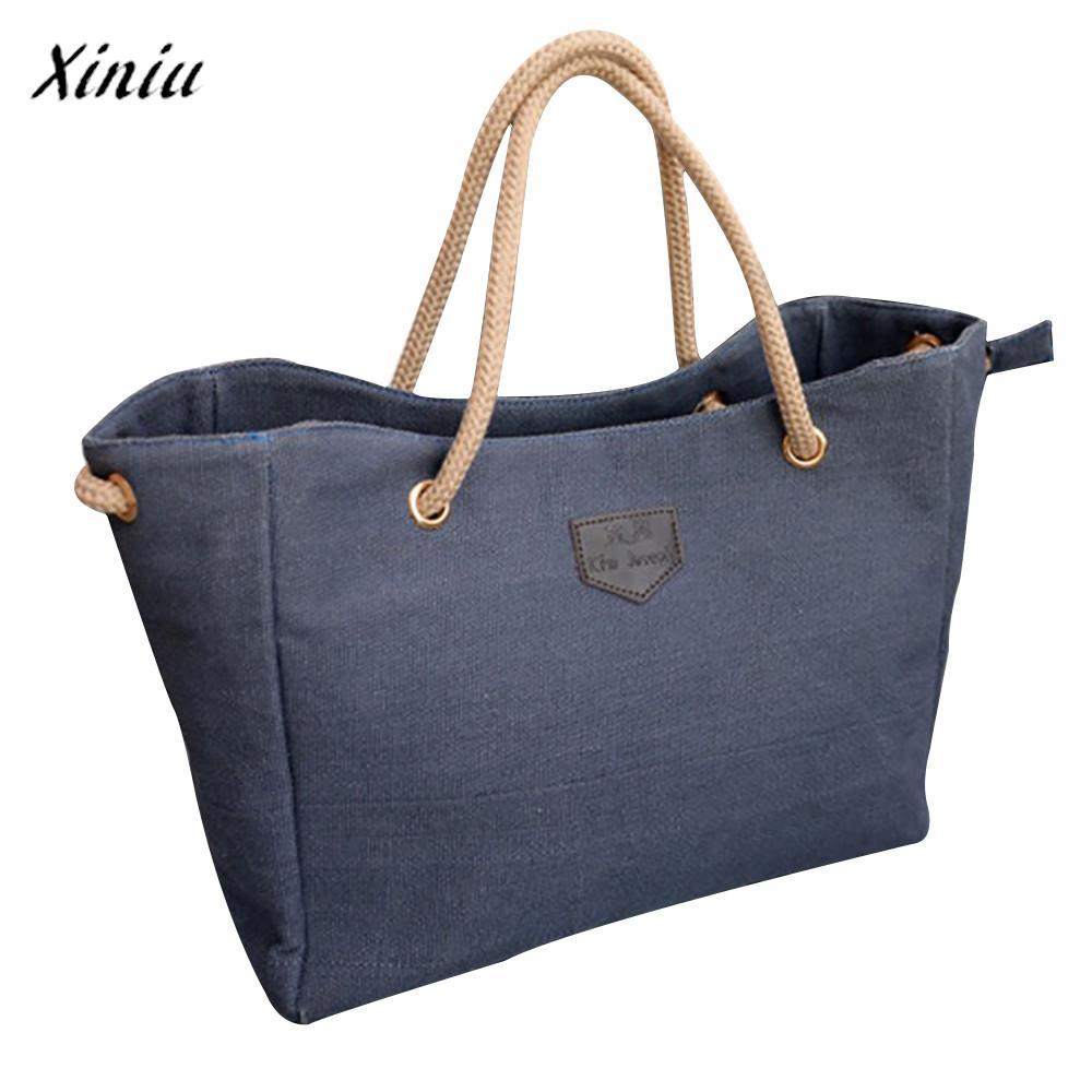 221fcb739946 Xiniu Luxury Handbags Women Bags Designer Canvas Big Bag Trend ...