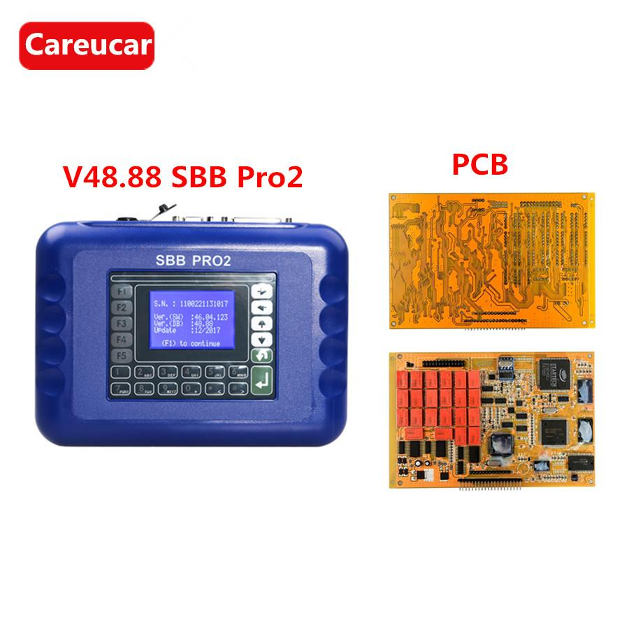 Sbb Pro2 Key Programmer Updated to V48.88 Can Support New Cars to 2017 V48.88 SBB PRO2