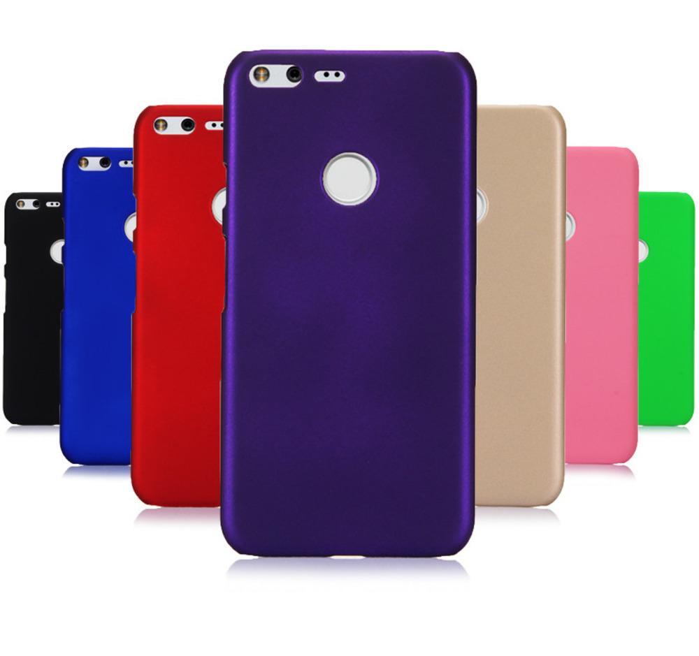 cheap for discount 7b3de 24934 Phone Case Sfor Coque Google Pixel Xl Case Slim 360 Matte Hard Plastic Pc  Candy Color Back Cover For Fundas Pixel 2 Xl Case