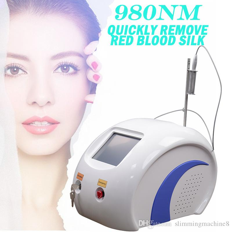 laser spider vein removal varicose veins home treatment Remove red blood silk machine 980 laser CE certificate