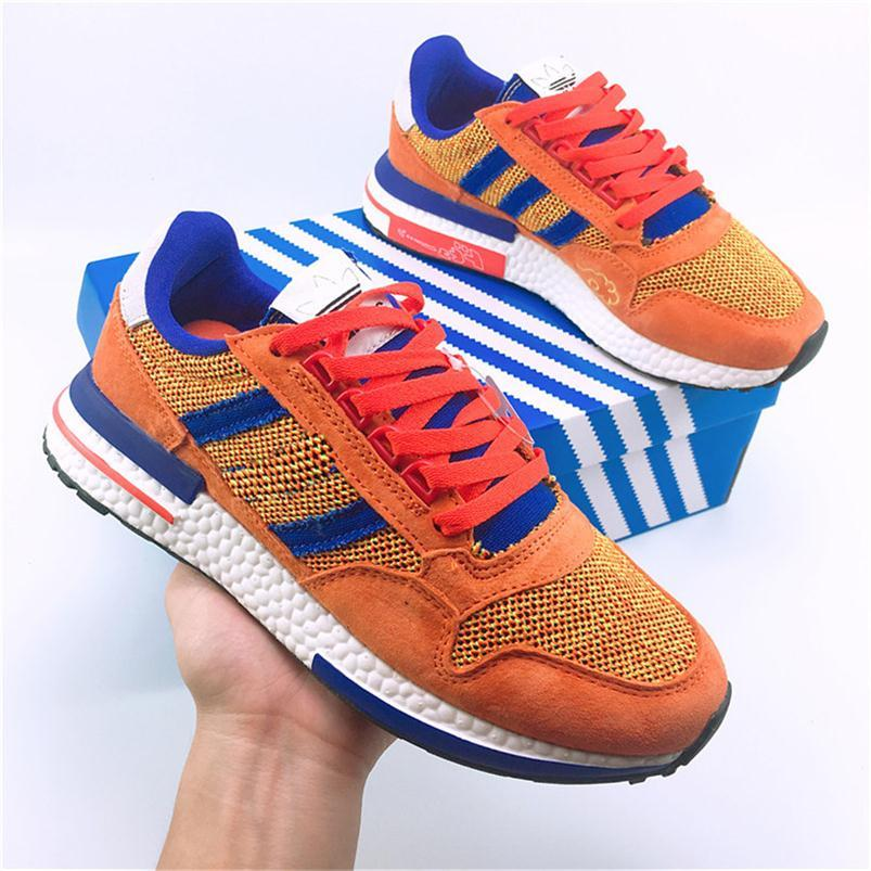 3e9b82450d8f4 2019 New ZX 500 RM Goku Men 500 Sneakers ZX500 OG The Dragon Ball Z Grey  Women Mens Designer Shoes Casual Size 36 44 Red Shoes Footwear From  Runningshoes29