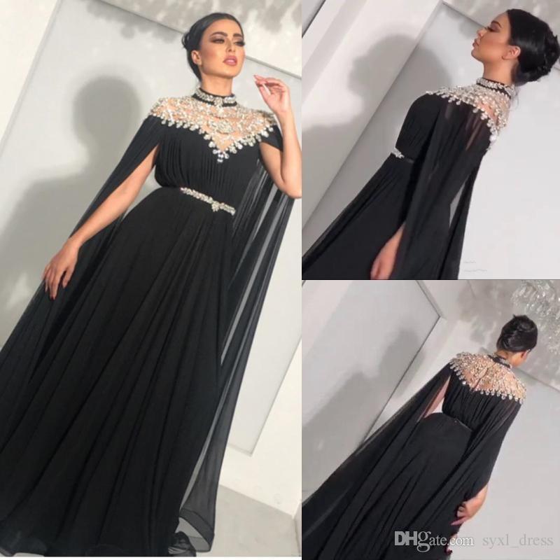 9ade461aec2 Abendkleider Glitter Crystal Plus Size Elegant Evening Formal Dresses Party  Wear 2019 Engagement Vestido De Novia Chiffon With Sash Wholesale Party  Dresses ...