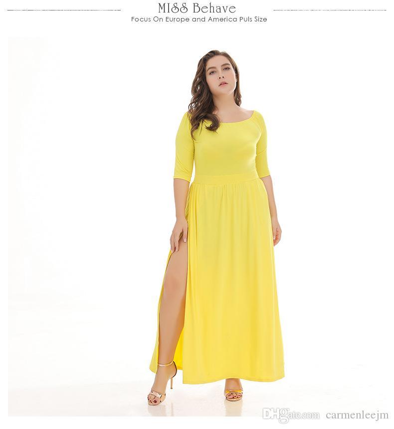 Vestidos largos para tallas grandes