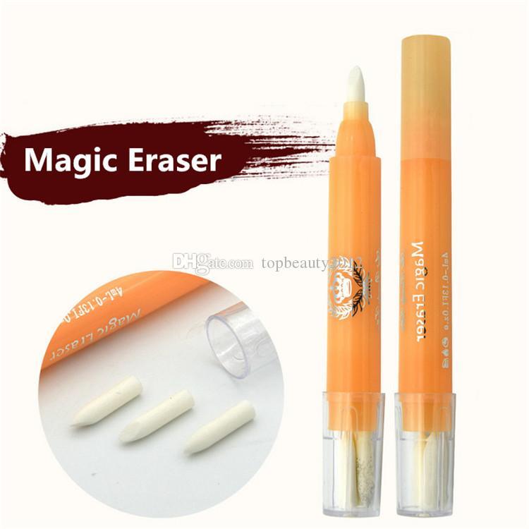الوشم الإكسسوارات الحاجب تصميم مزيل الجلد ماركر ماجيك ماكياج ممحاة القلم الجمال الحاجب الشفاه الوشم أداة