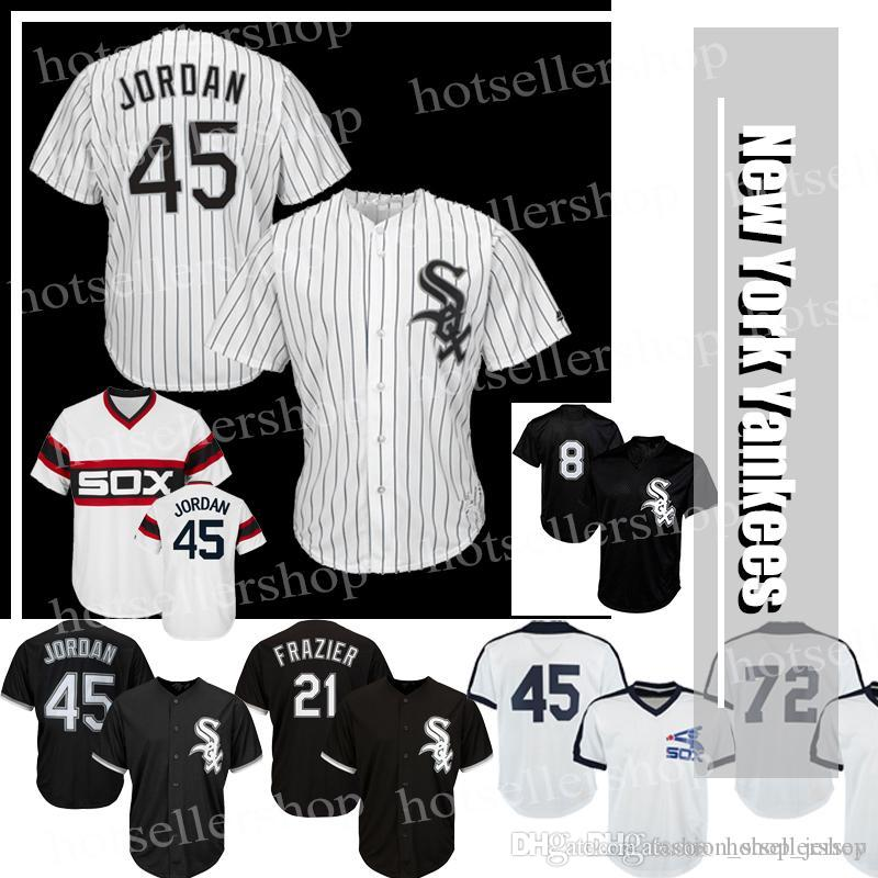 d358a7225 ... alternate home cool base jersey majestic 6a9eb d9429  low price 2019 bo  jackson chicago white sox baseball jerseys 45 mj 72 carlton fisk 35