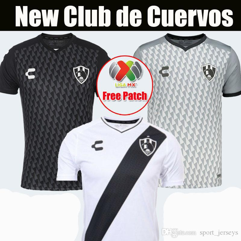 separation shoes ce0f0 ae9d2 19 20 CLUB DE CUERVOS soccer Jersey 2019 2020 home away football shirts  thai quality Crows size S-2XL