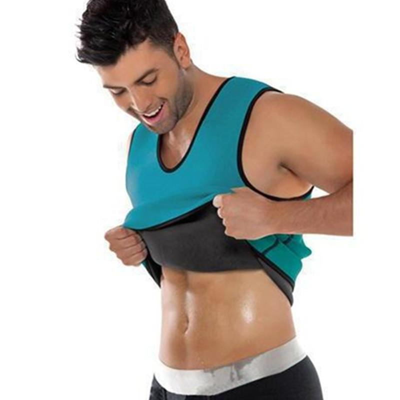 bb6e2b0e5b Slimming Belt Belly Men Slimming Vest Body Shaper Neoprene Abdomen Burning  Shaperwear Waist Sweat Corset Weight Dropshipping Online with  30.79 Piece  on ...