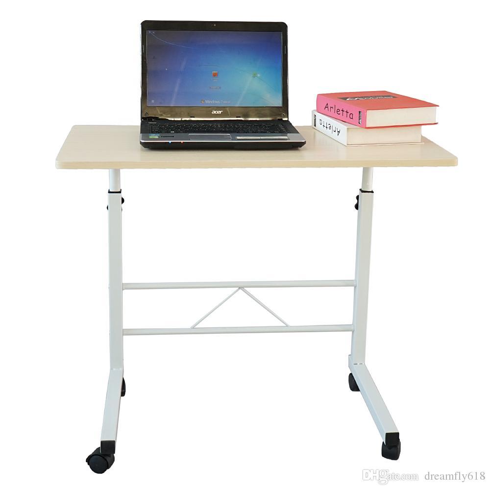 Phenomenal Protable Laptop Table Wooden Computer Desk Stand Sofa Side Bed Tray Rolling New Inzonedesignstudio Interior Chair Design Inzonedesignstudiocom
