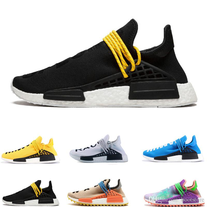 2a427638e4b7a Wholesale High Quality 2019 NMD Human RACE Pharrell Williams Hu Trail NERD  Men Womens RunnING ShOes NMD XR1 Sports ShOes Size 36 45 Most Comfortable  Shoes ...