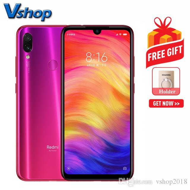 Xiaomi Redmi Note 7 48MP Camera 6GB 64GB Dual AI Back Cameras 4000mAh  Battery Face ID & Fingerprint Identification 6 3 inch Network: 4G