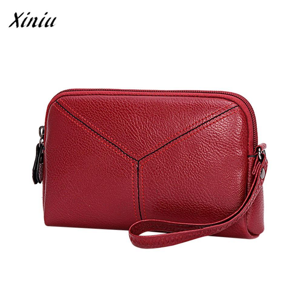 e9639528c994 Xiniu Luxury Handbags Women Bags Designer Girl Fashion Purse Vintage  Leather Preppy Style Mini Handbag Phone Bag For Teens Girls Clutches Cheap  Clutches ...