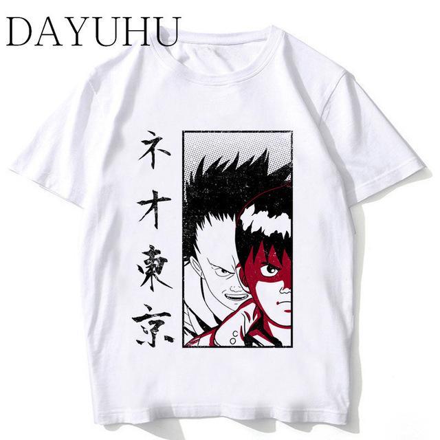 Compre 2019 Hombres S Ropa De Diseñador Camiseta Akira Synthwave T Shirt  Hombres Nuevas Llegadas Camiseta Moda Blanco De Alta Calidad Anime Japonés  Camiseta ... db1c795b1419c