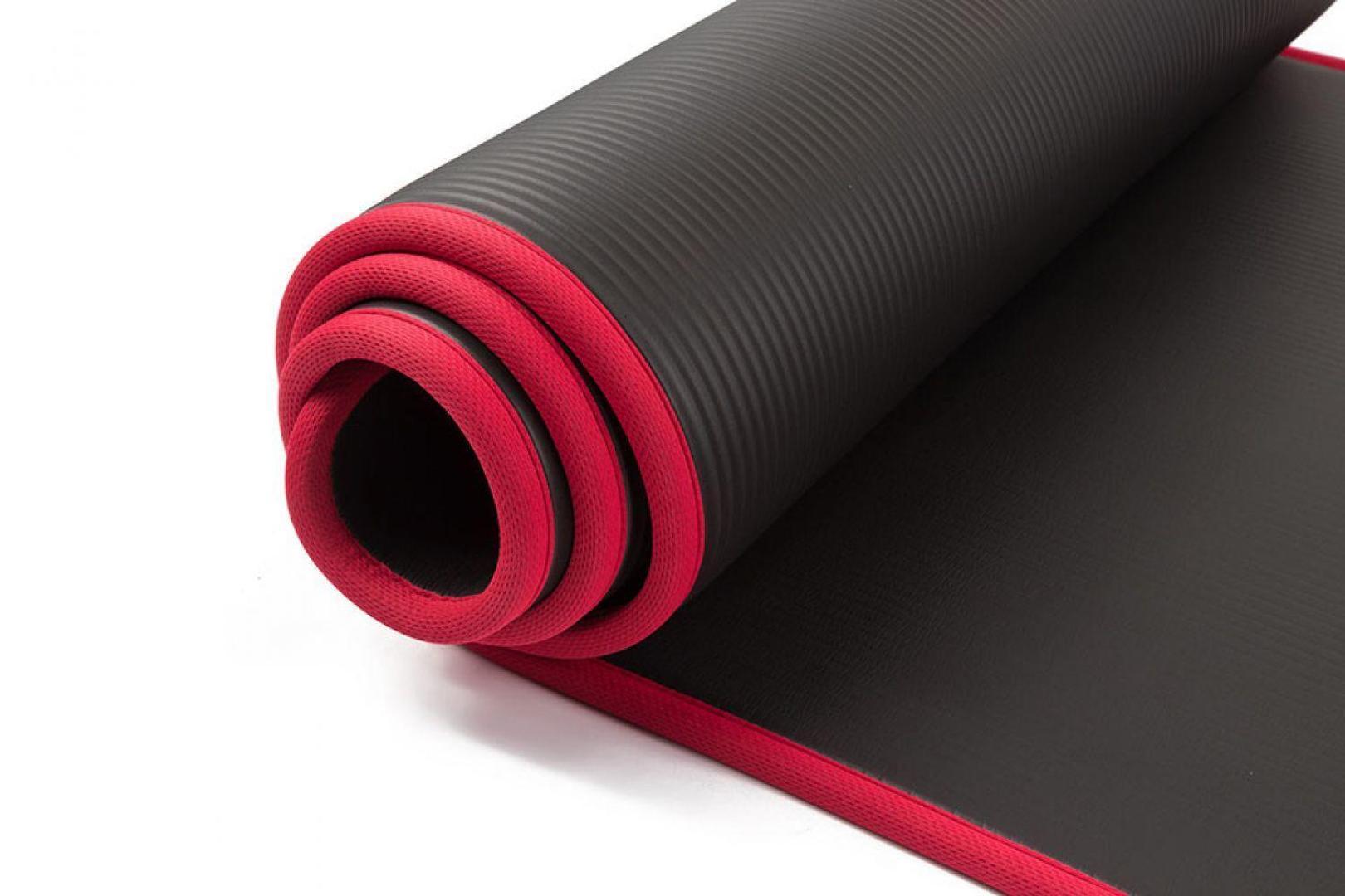 Acheter 10 MM Extra Épais 183cmX61cm Haute Qualité NRB Tapis De Yoga  Antidérapants Pour La Remise En Forme Tasteless Pilates Gym Tapis  D exercice Avec ... d125c74191a