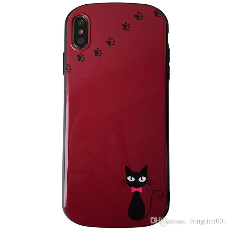 size 40 2540a c501b Cat TPU Phone Shell Protective Cover Shell Iphone Mobile Phone Shell For  IphoneXsMax Cases 6/6S6P/6SP/7/87P/8P/X/XS/XR