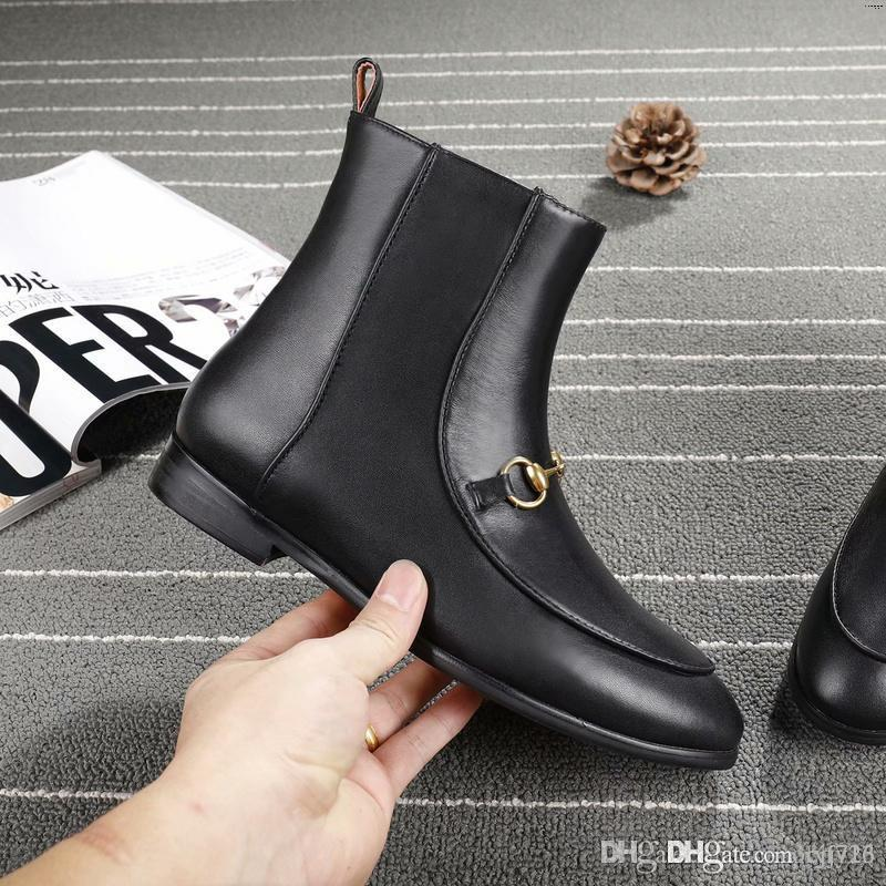 ac8ff0b9c2a Ankle Boots For Women Pointed Toe Rivets High Heel Boots Female Front Back  Zipper Autumn Winter Botas Over The Knee Boots Cowgirl Boots From Cjf723