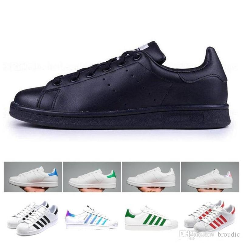 newest collection a0f8d c0104 Scarpe Online Prezzi Bassi Ultra Light 2019 Superstar White Hologram  Iridescent Junior Superstars 80s Stan Pride Sneakers Super Star Donna Uomo  Smith Raf ...