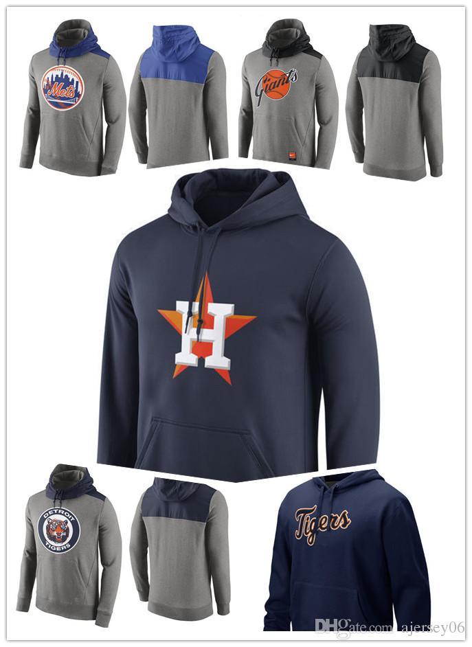 Compre 2018 Nuevo Suéter De Los Hombres Detroit Tigers Houston Astros San  Francisco Giants Nueva York Mets Pullover Hoodie Ropa Deportiva Al Aire  Libre ... 03993d55438