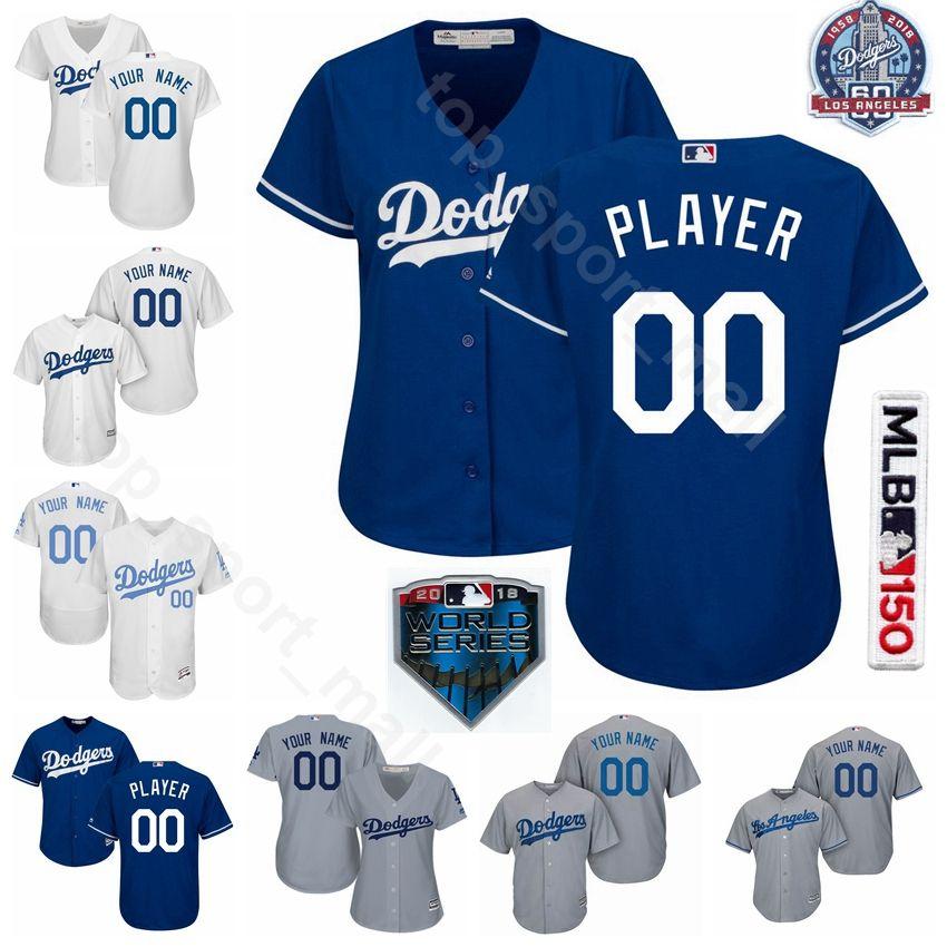 huge discount 4cf4e b7ac9 Man Youth Woman Dodgers Jersey Baseball AJ Pollock Justin Turner Clayton  Kershaw Joc Pederson Chris Taylor Jackie Robinson Sandy Koufax