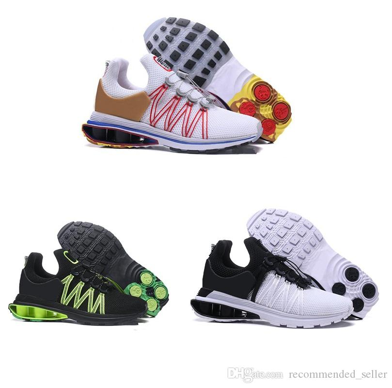 99f45908db90f8 2018 New Shox Gravity 908 Running Shoes Mens Air Avenue Deliver 908 Turbo  NZ R4 Sneakers Come With Box Running Sneakers For Girls Boys All Black  Sneakers ...