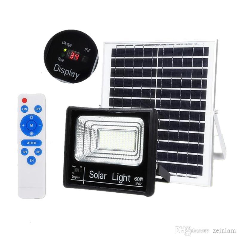 Light Extérieur Garden Street Sécurité Étanche Projecteur Urgence Ip67 D Led Solaire Éclairage Lampe Lumière gYbyf76