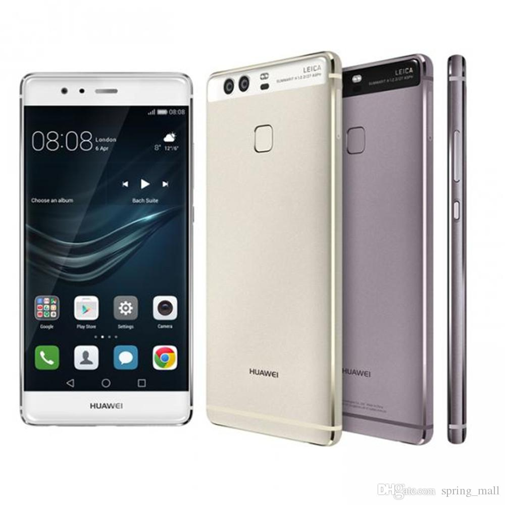 International Firmware Huawei P9 3GB RAM 32GB ROM 5 2 Fingerprint Mobile  Phone 12MP*2 Hisilicon Kirin 955 Octa Core