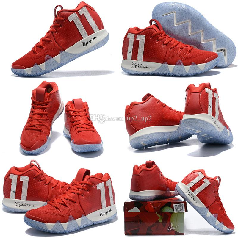 e7a10dcab84 2019 Kyrie Confetti Men Sneakers IV 4 High Ankle Irving Outdoor Zoom  Championship Finals Sports Training Shoes Size 40 46 From Up2 up2