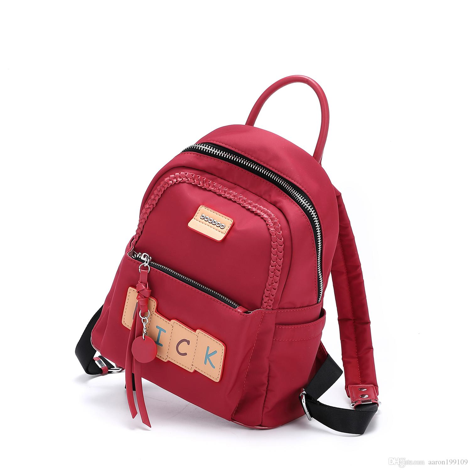 fe60370f563e 2019 Europe Fashion Function Schoolbag Female Students Backpack Junior High School  Backpacks Computer Bag Swagger Backpack Army Backpack Water Backpack From  ...