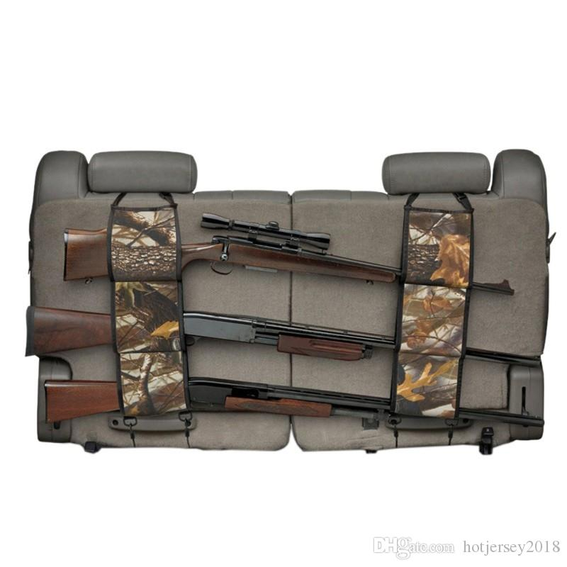Sports Bags Official Website Multi-functional Camouflage Hunting Bag Car Rear Seat Belt Hunting Equipment Kits Gun Rack Outdoor Hunting Appliances