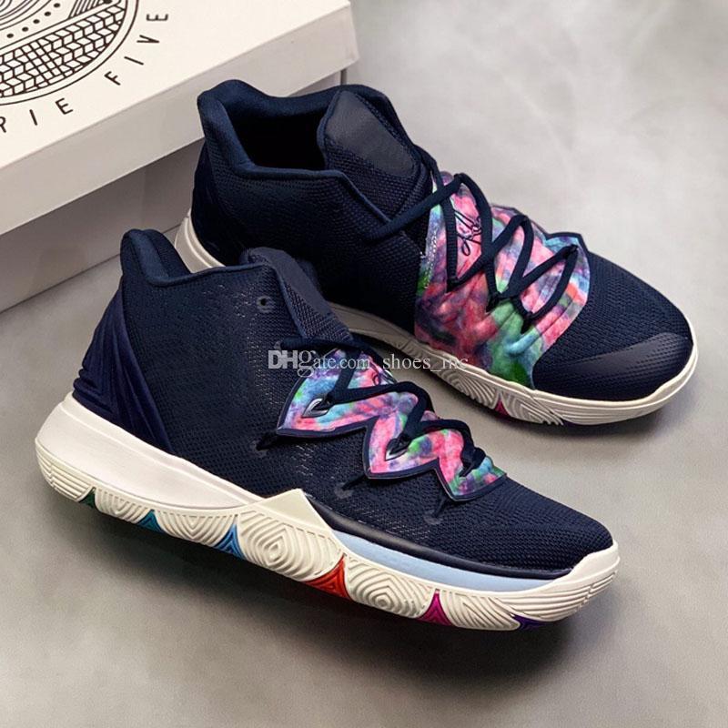 e435ed524d72 2019 2018 New Hot Sale Kyrie 5 Black Magic Basketball Shoes For Sale ...