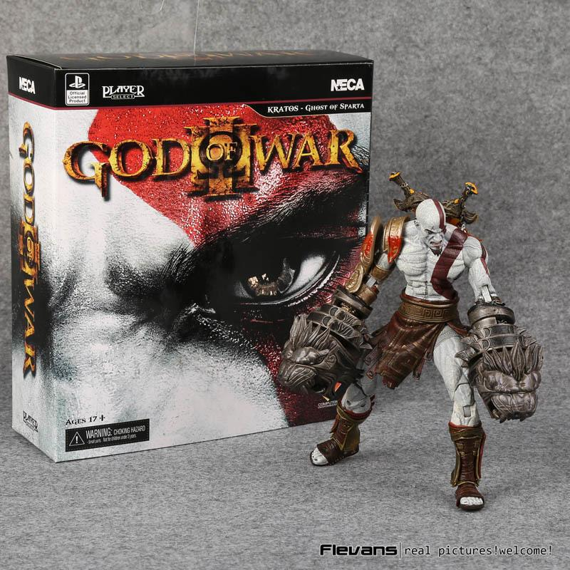 Neca God Of War 3 Ghost Of Sparta Kratos Pvc Collectible Action Figure Model Toy 22cm J190720