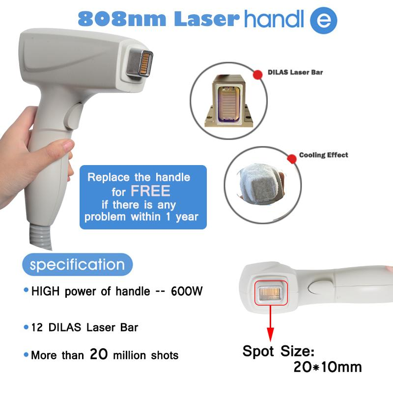 High quality Diode Laser tpye permanent hair removal sale machine 810nm diode laser rapid hair removal machine for men and women
