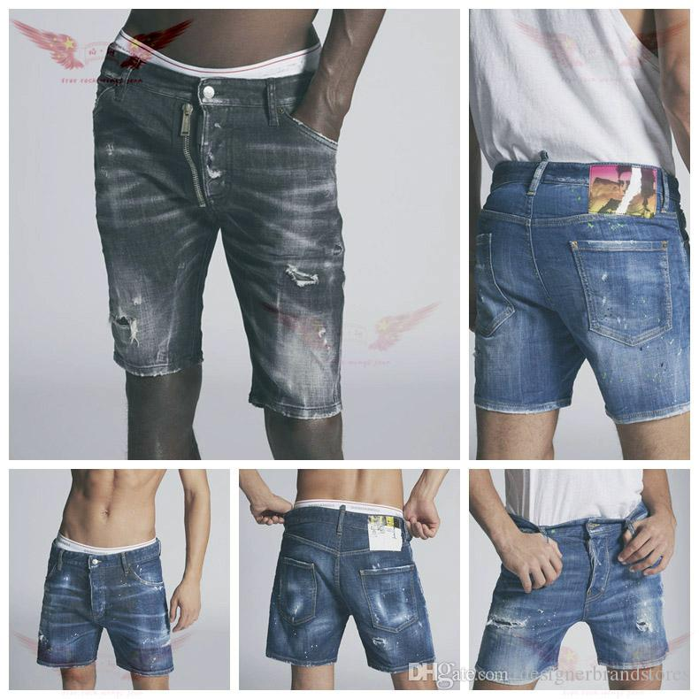 2019 good quality Mens designer Jeans Slim Fit Motorcycle Biker Denim For Men Fashion Designer Hip Hop amiri Mens Jeansmens jeans shorts
