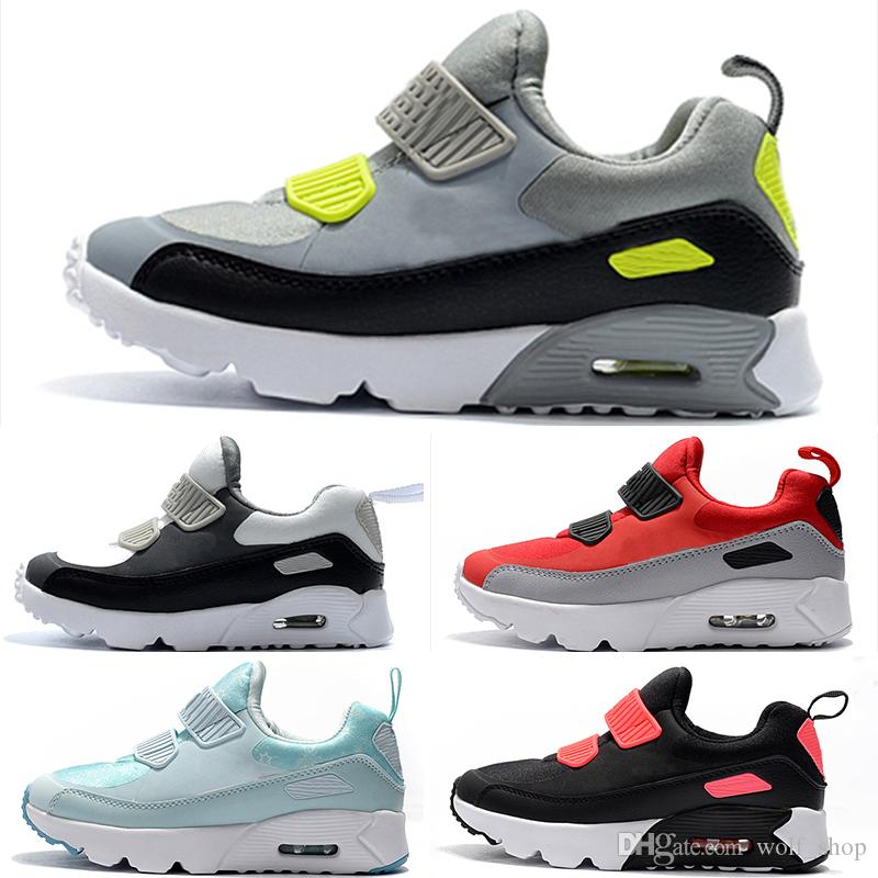 Nike air max 90 2019 Kinder Sneakers Presto 90 II Schuh Kinder Sport Orthopädische Jugend Kinder Trainer Infant Mädchen Jungen Laufschuhe mit Box