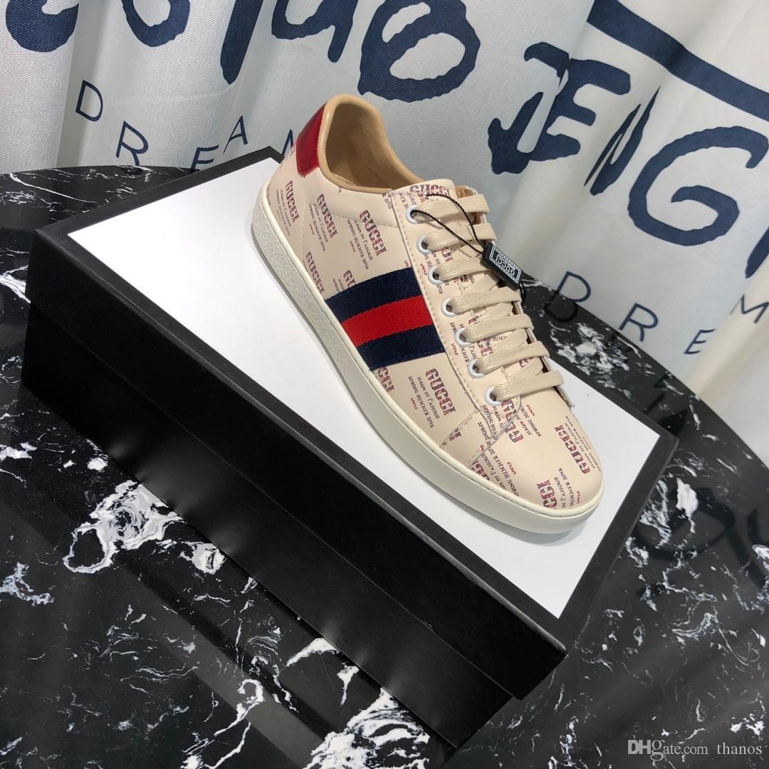 3f01df6ba 2019 Guccis Gucci's Top Boxed Men Women G113 Unisex Mens Womens Bees ...