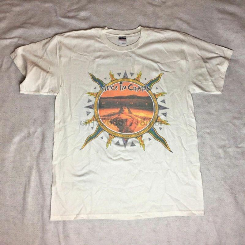 VINTAGE RARE 1992 ALICE IN CHAINS DIRT Tour T-Shirt Ristampa Taglia S - 2XL