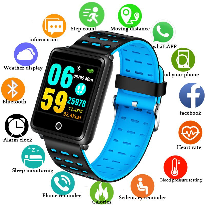 Men's Watches Lovely Bangwei 2019 New Smart Watch Men Sport Watch Bluetooth Pedometer Fitness Tracker Calories Women Smart Watch Fou Ios Android+box Attractive Appearance