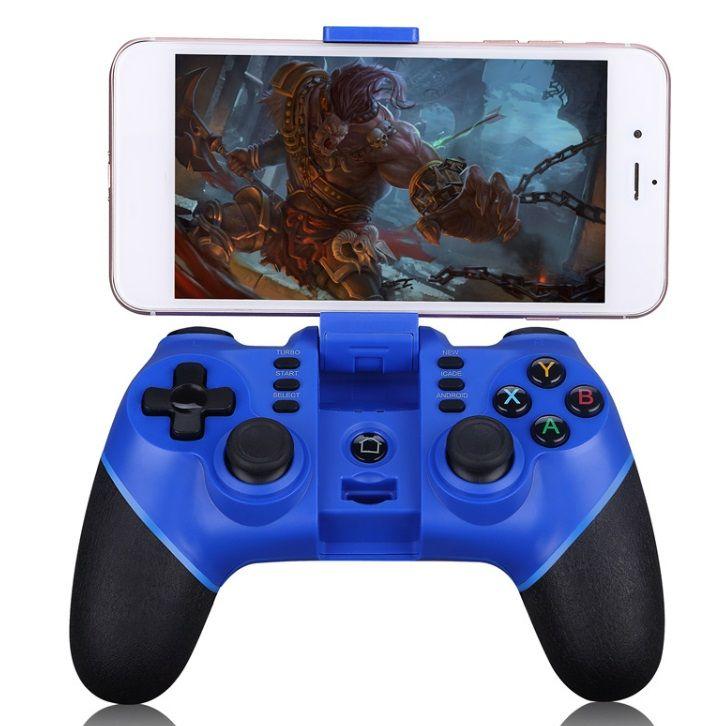 ZM-X6 sem fio Bluetooth Gamepad Game Controller Game Pad para iOS Android Smartphones Tablet PC Windows TV Box pk 050 054 pubg