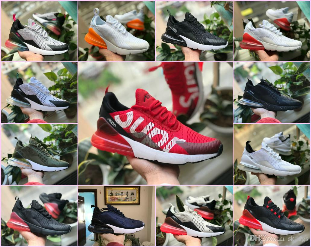 New 2019 Original Air OG 270 ShOes Outdoor Casual Run Sneakers Black White  Red Shock Off Women Men 27c Puls Tn Requin Chaussures Comfortable Shoes  Discount ... 9c8c2de55