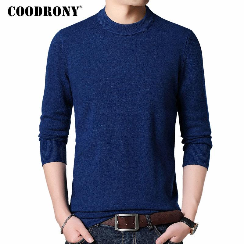COODRONY Männer Pullover 2018 Herbst-Winter-starke warme Pullover Männer Cashmere-Wolle Pullover Men Casual O-Neck Pullover Pull Homme 8228 SH190930